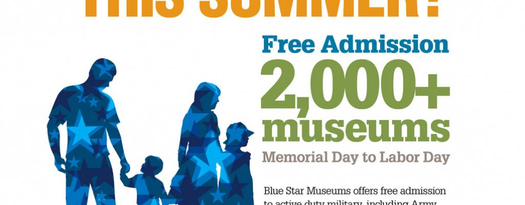 Image of Blue Star Museums Free Admission