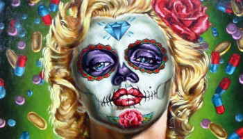 """Marilyn Muerta"" by Francisco Franco."