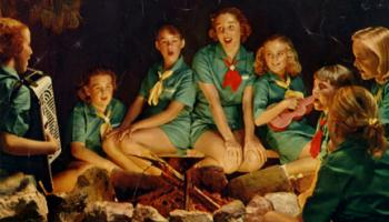 Image of 100 years of Girl Scouting in California