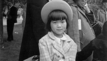 Mae Yanagi by Dorothea Lange, 1942. Courtesy of Paul Kitagaki, Jr.