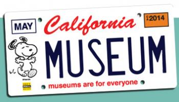 Image of California Snoopy License Plate