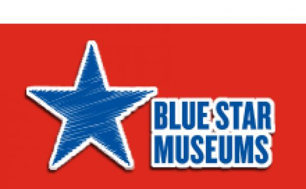 Blue Star Museums 2019 logo