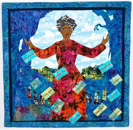 """Lucy Terry Prince: The Griot's Voice"" quilt photo"