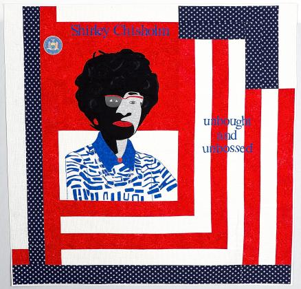 """Shirley Chisholm: Unbought and Unbossed"" quilt photo"