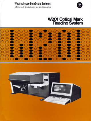 Optical mark reading system manual, circa 1980s. Courtesy of California State Archives.