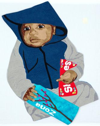 """Trayvon Could Be My Son"" quilt photo"