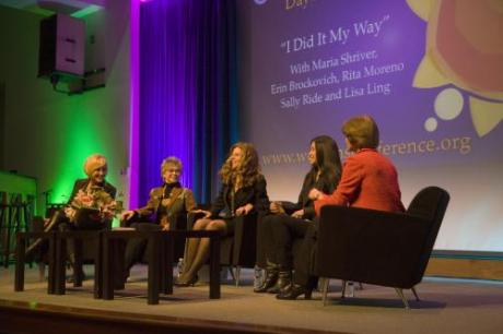 Erin Brockovich, Rita Moreno, Maria Shriver, Lisa Ling and Sally Ride