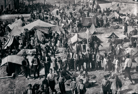 Armenian refugee camp, December 20, 1920. 