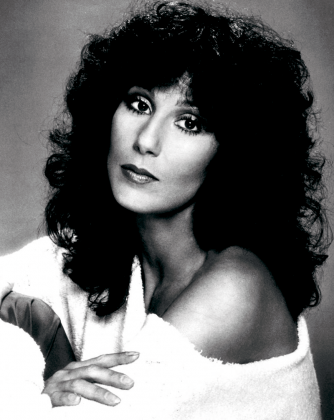 Iconic entertainer Cher is a native Californian of Armenian descent. Courtesy of California Museum.