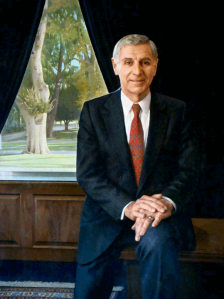 Official portrait of former California Gov. George Deukmejian. Courtesy of California State Capitol Museum.