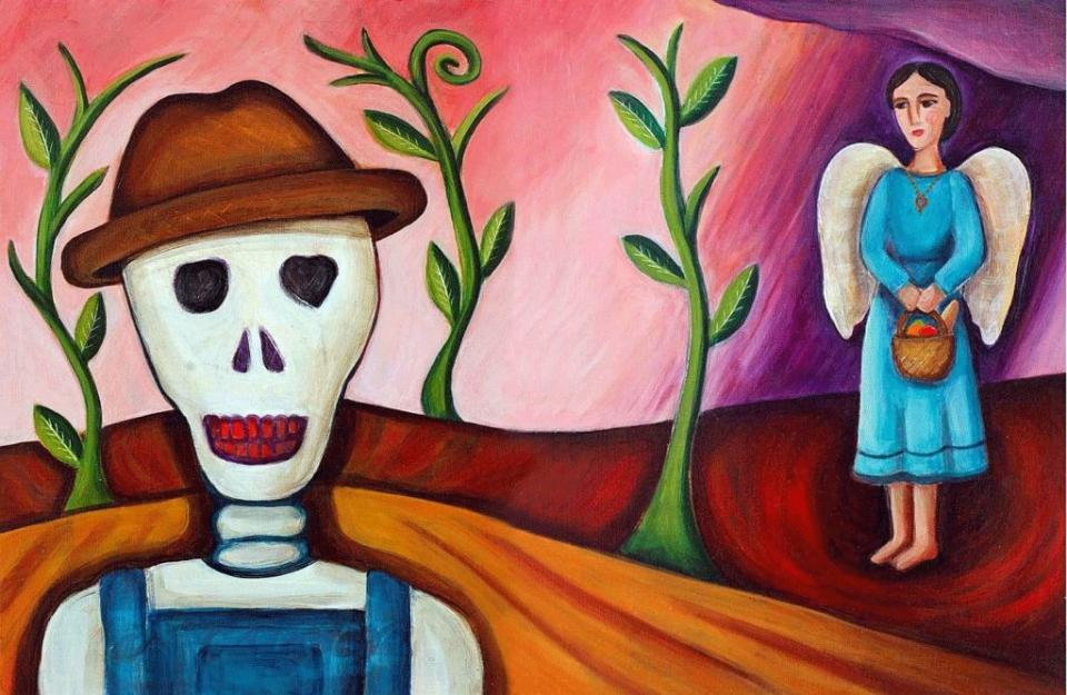 "Mary Southall is one of five California artists represented in the California Museum's ""Day of the Dead"" Art of Día de los Muertos 2015,"" running through Jan. 3. Photo: Courtesy Of Mary Southall"