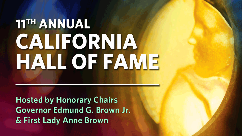 11th Annual California Hall of Fame graphic