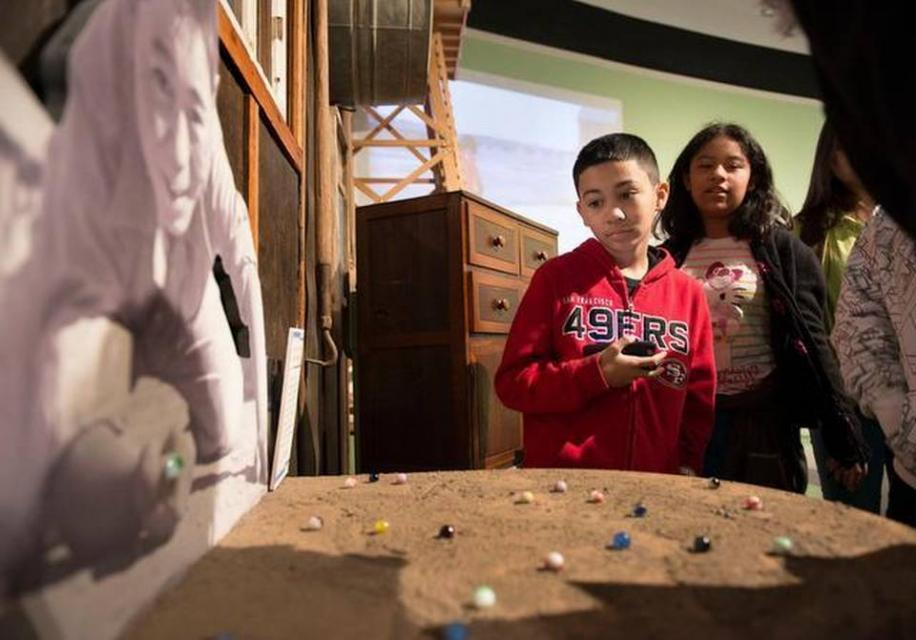 Image of Students hear stark tales about Japanese internment camps at California Museum