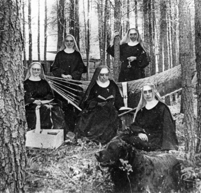 Image of Exhibit at California Museum tells story of nuns in America
