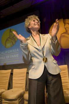 Rita Moreno CAHoF 2007 Induction Ceremony