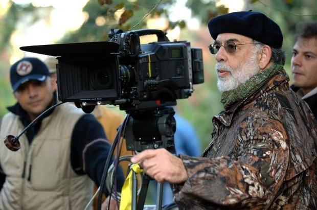 "Francis Ford Coppola on set of ""Youth Without Youth."" COS AELENEI — Courtesy Sony Pictures Classic"