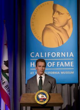 Governor Schwarzenegger Introduces CAHoF 2007 Induction Ceremony