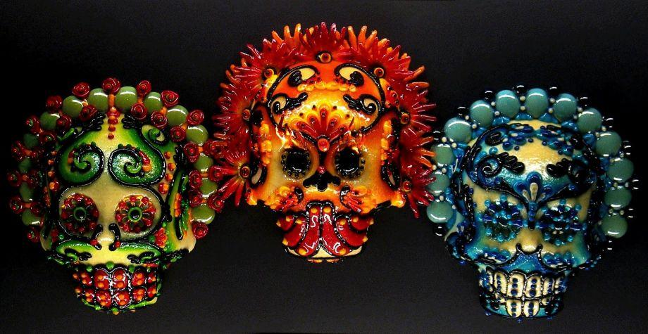 "Rob-O is one of five California artists represented in the California Museum's ""Day of the Dead"" Art of Día de los Muertos 2015,"" running through Jan. 3. Photo: Courtesy Of Rob-O"