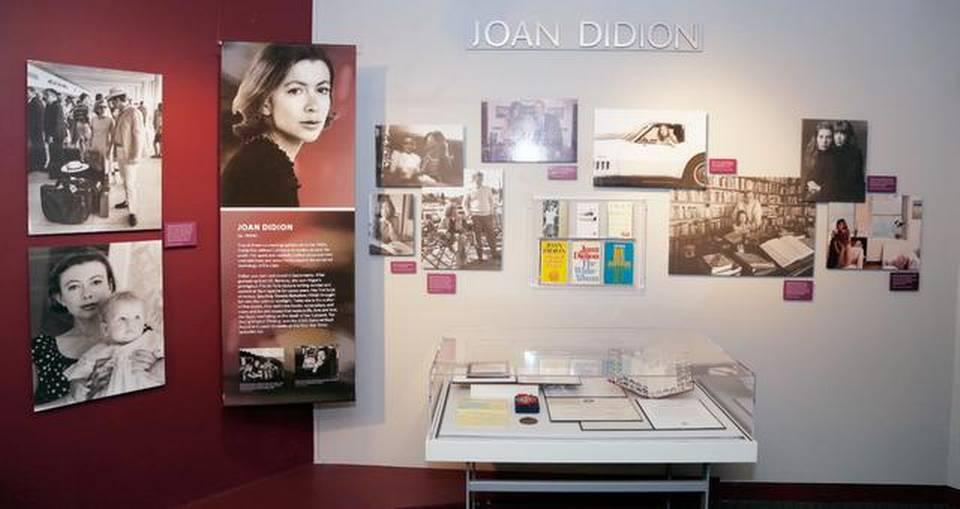 Sacramento native Joan Didion was active in gathering artifacts for her display for the California Hall of Fame exhibit.PETER A. WILLIAMS/CALIFORNIA MUSEUM