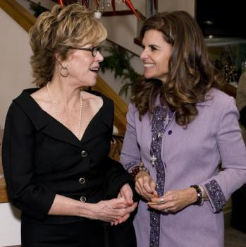 Jane Fonda and the First Lady