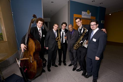 Quincy Jones and the Dave Brubeck Institute Quintet