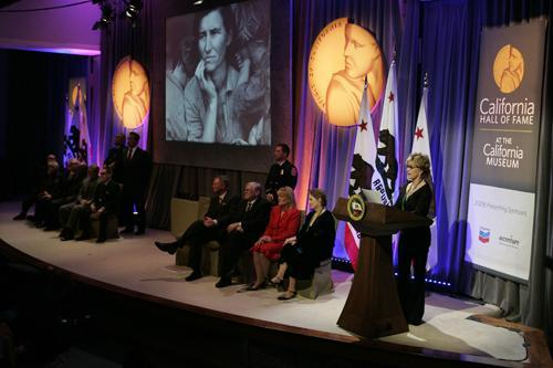 The 2008 California Hall of Fame Ceremony
