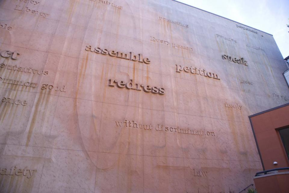Image of Constitution Wall