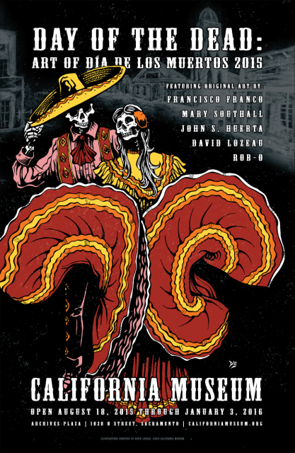Image of Day of the Dead Exhibit Poster