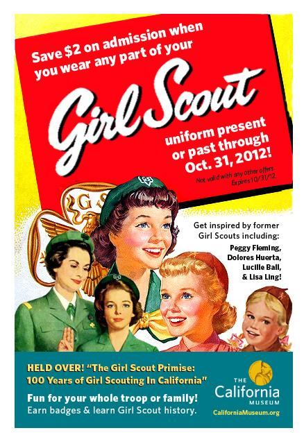 Image of $2 off admission for Girl Scouts