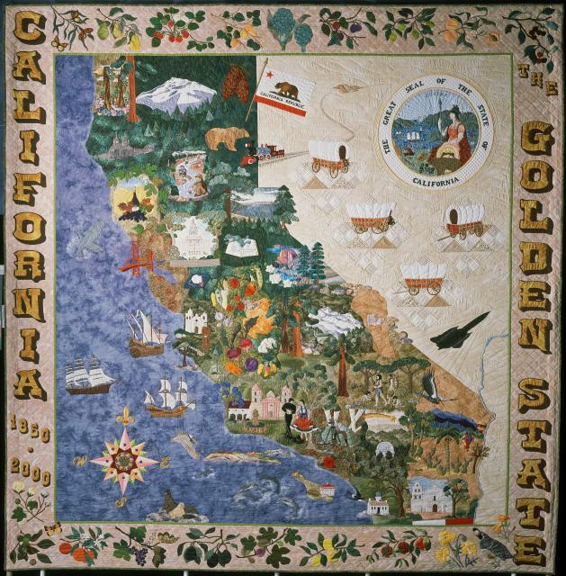 Image of Sesquicentennial Quilt: A CA Legacy