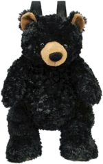 Monarch the CA Bear backpack