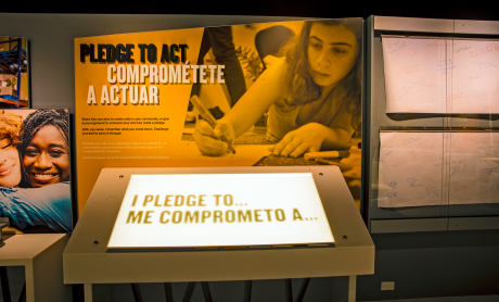 """Pledge to Act"" section photo"