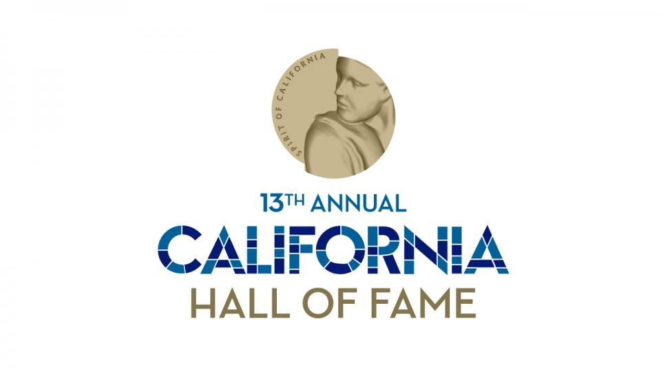 California Hall of Fame graphic